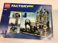 Lego Building 10190 Market Street, with mini figs. Instructions available on line, No box