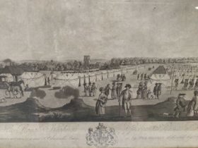 Of local interest: 18th century black and white engraving 'To His Royal Highness George Prince of Wa