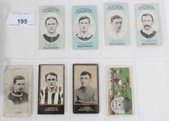 Cigarette cards - Selection of scarce football related cards.