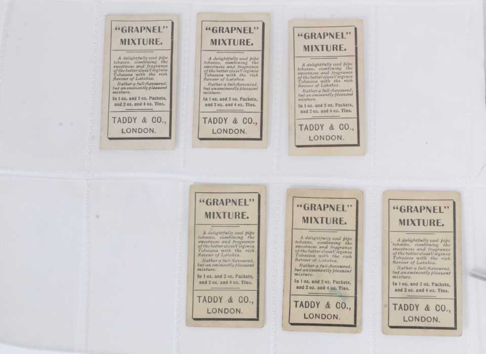 Cigarette cards - Taddy 1907/8 Prominent Footballers - 12 different, variety of backs including (Imp - Image 4 of 4