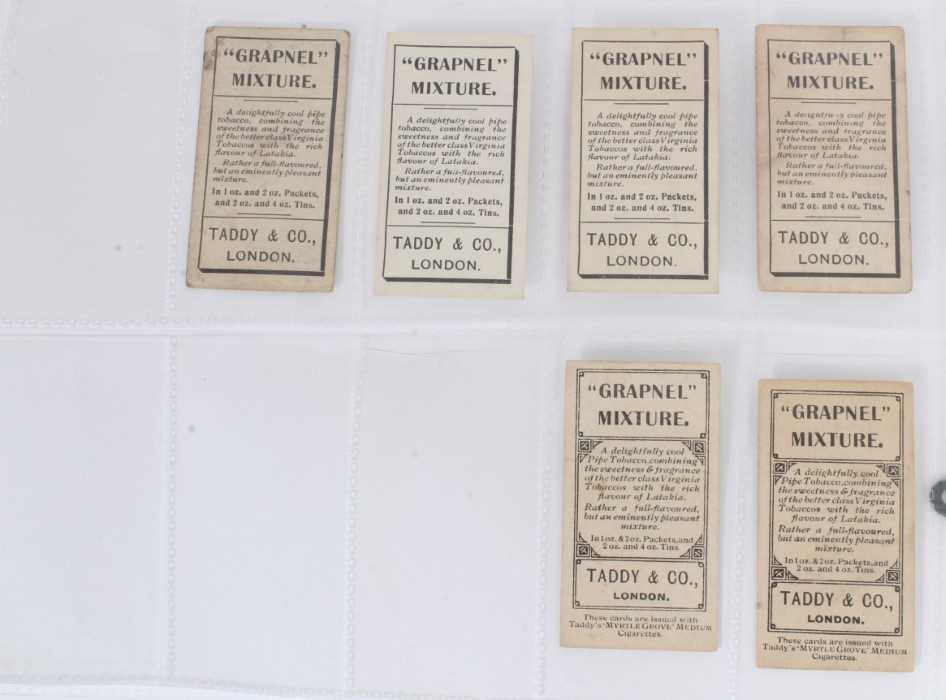 Cigarette cards - Taddy 1907/8 Prominent Footballers - West Ham United, 12 different cards. - Image 4 of 4