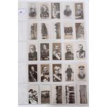 Cigarette cards - W & M Taylor 1915. War Series (Tipperary Cigarettes). Complete set of 25.