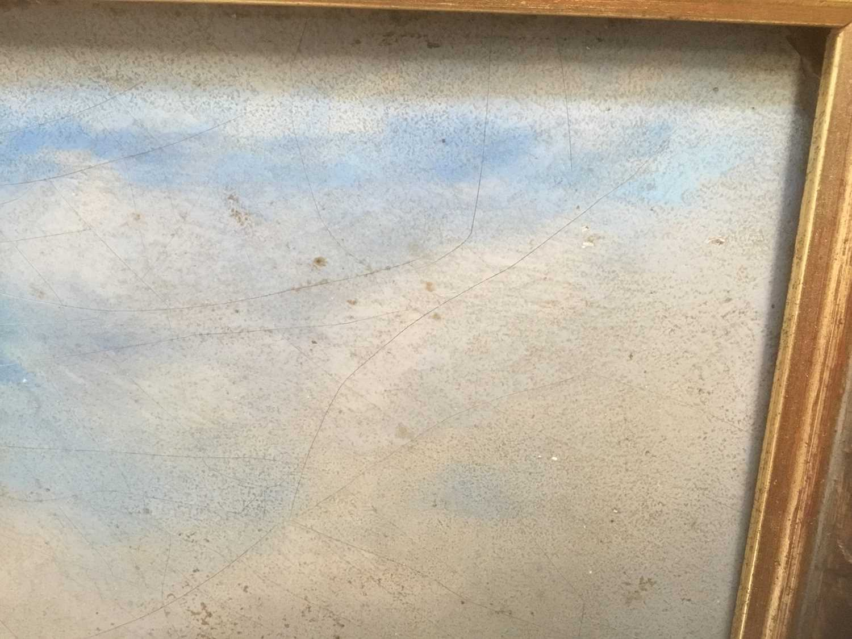 19th century oil on panel coastal scene - Image 5 of 13