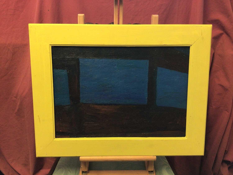 Frank Beanland (1936-2019) oil on board, three windows - Image 2 of 2