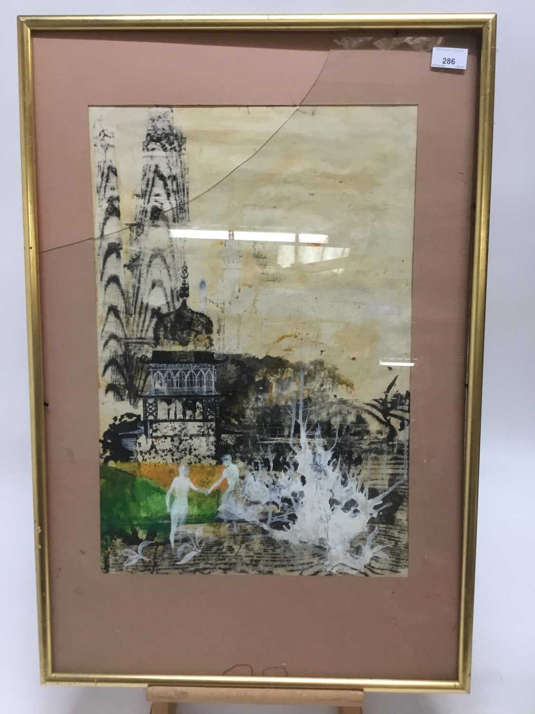 Modern British mixed media, Rowley Gallery - Image 2 of 7