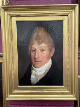 Early 19th century portrait of Joseph Moses (1779-1952)