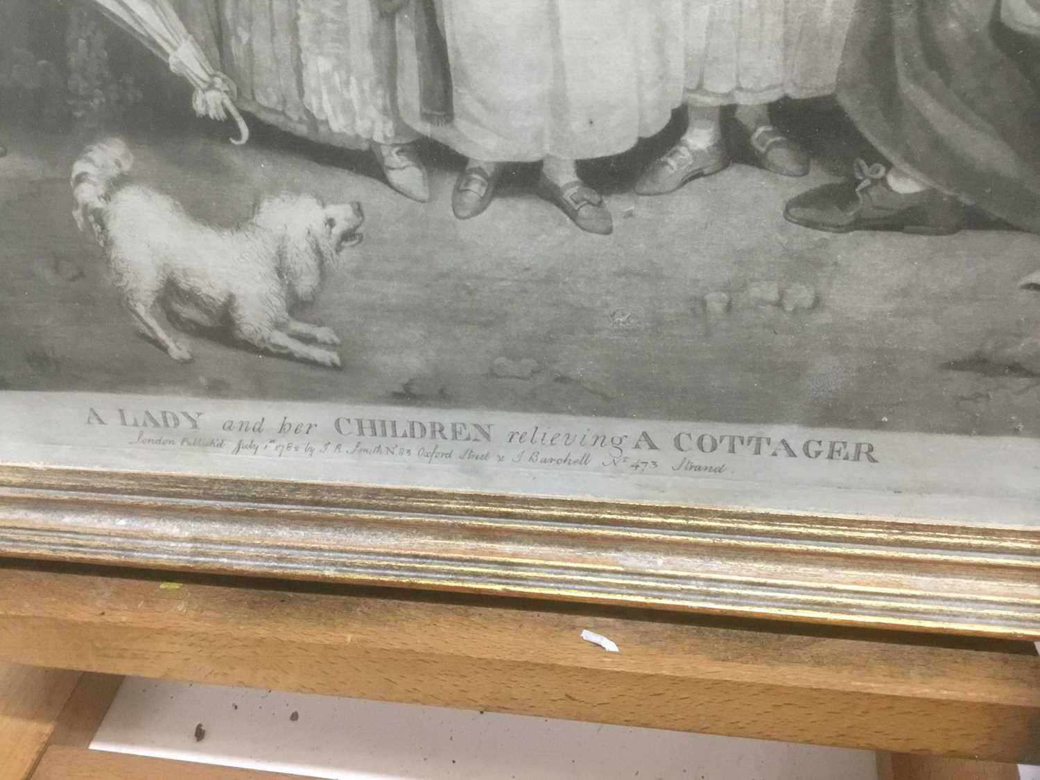 Four antique engravings - Image 3 of 24