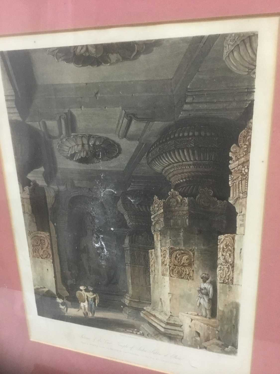 Four antique engravings - Image 9 of 24