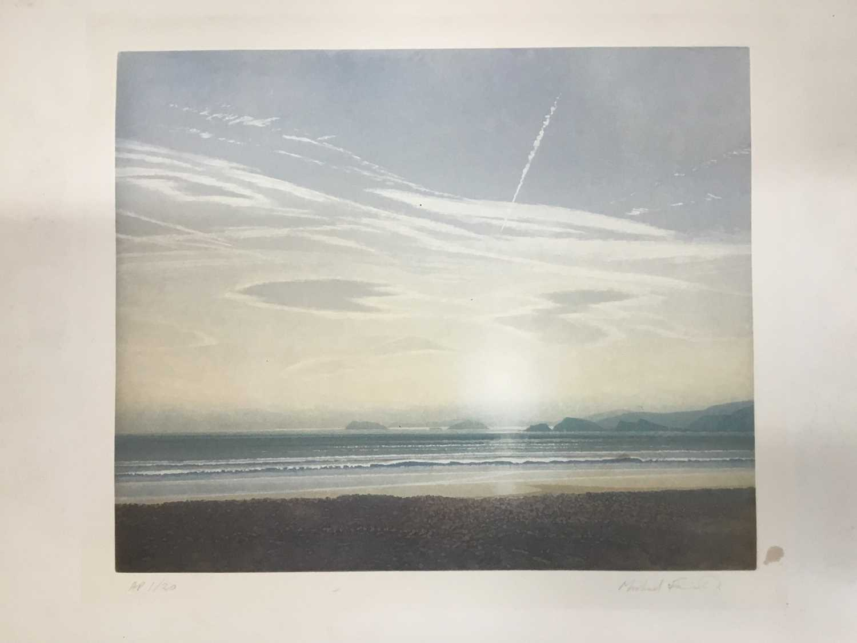 Michael Fairclough (b. 1940), aquatint, pencil signed