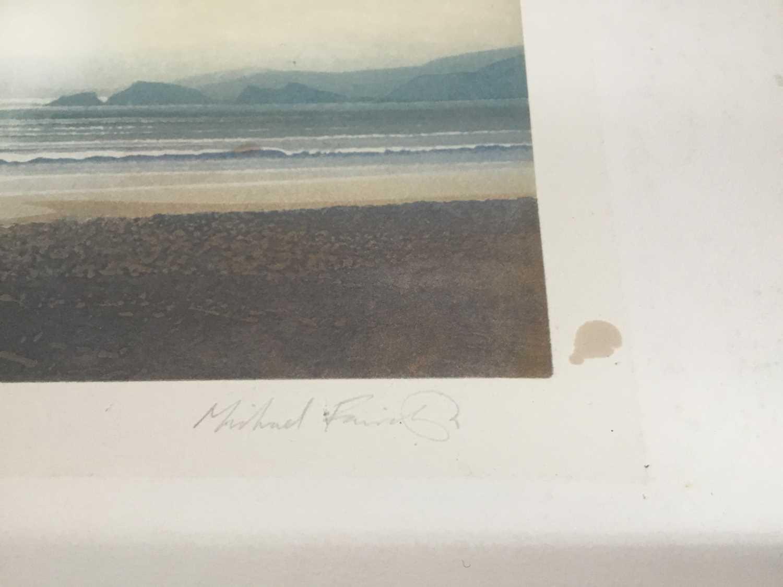 Michael Fairclough (b. 1940), aquatint, pencil signed - Image 3 of 5