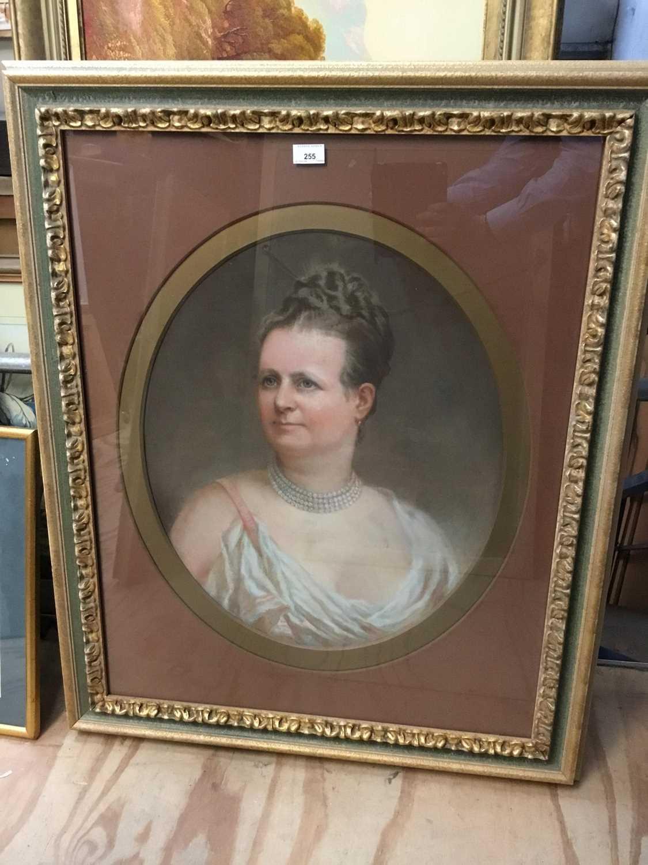 John Whitehead Walton (19th century) pair of pastel portraits. - Image 2 of 8