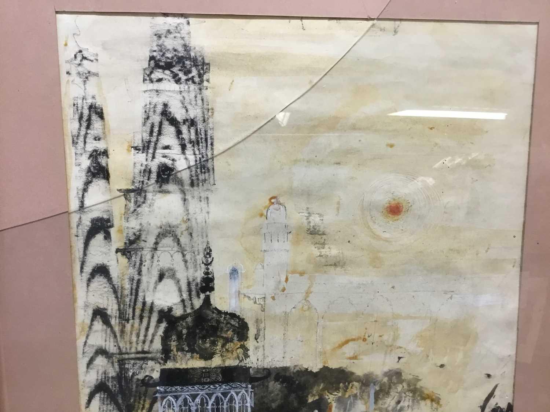 Modern British mixed media, Rowley Gallery - Image 4 of 7