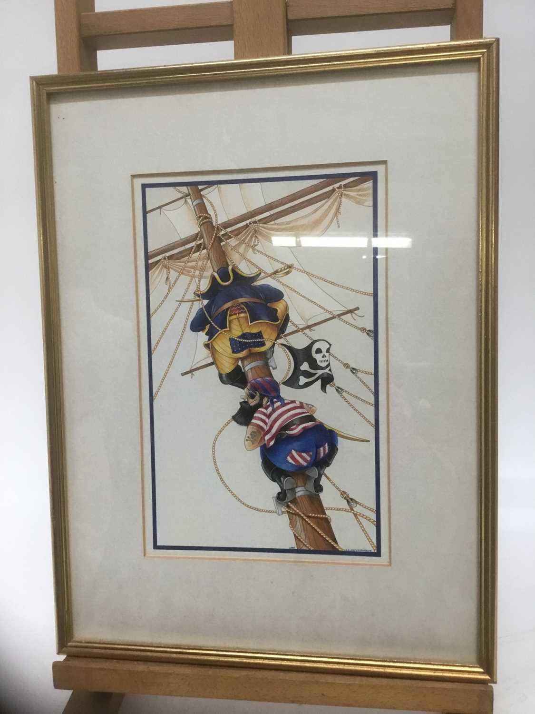 Watercolour - Pirates - Image 2 of 5