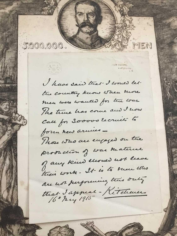 Sir Frank Brangwyn (1867-1956), signed etching - Image 4 of 8