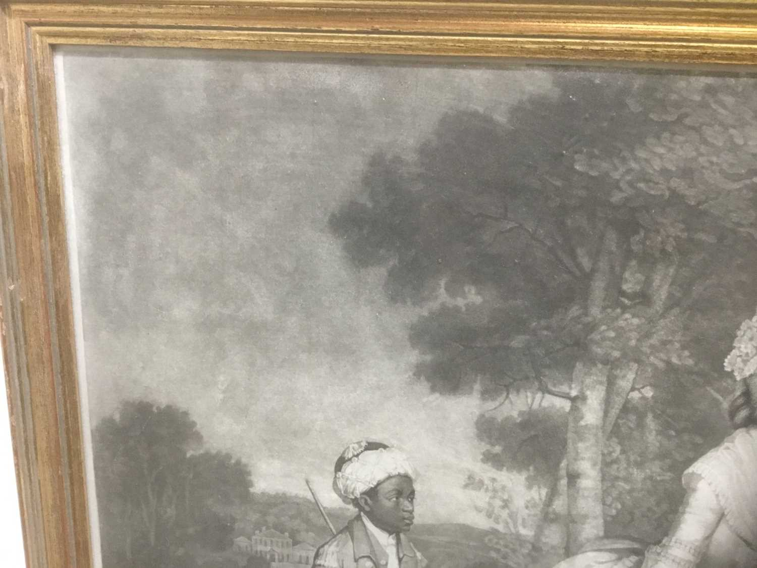 Four antique engravings - Image 7 of 24