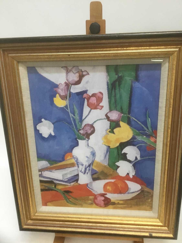 After Samuel Peploe print tulips