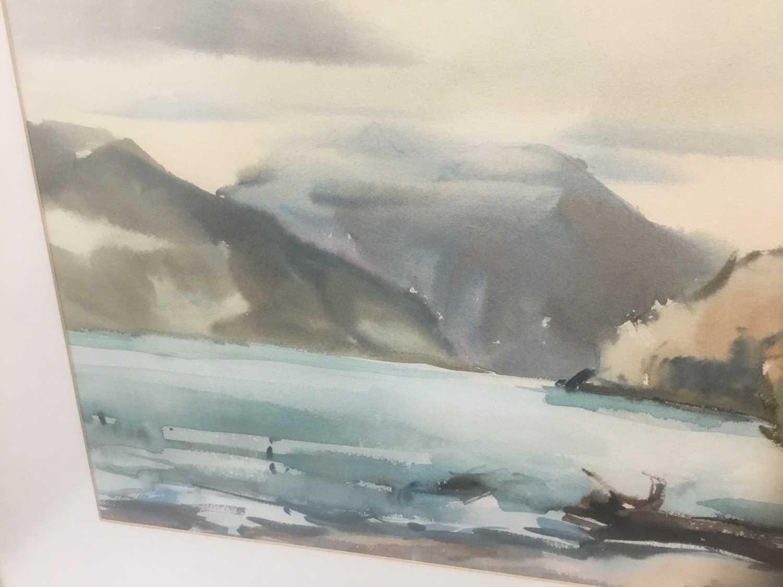 Kurt Schicketanz watercolours 'Lago todo los Santos' and 'Caleta de Pescadores Iquique' - Image 12 of 14