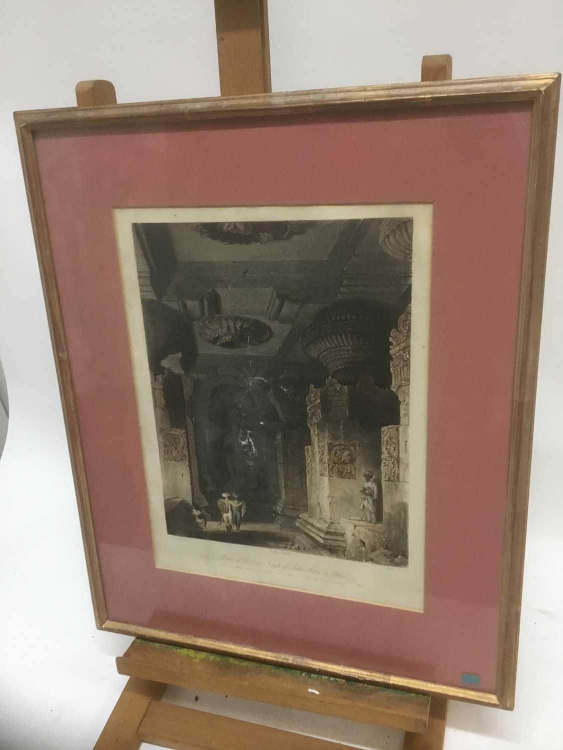 Four antique engravings - Image 10 of 24
