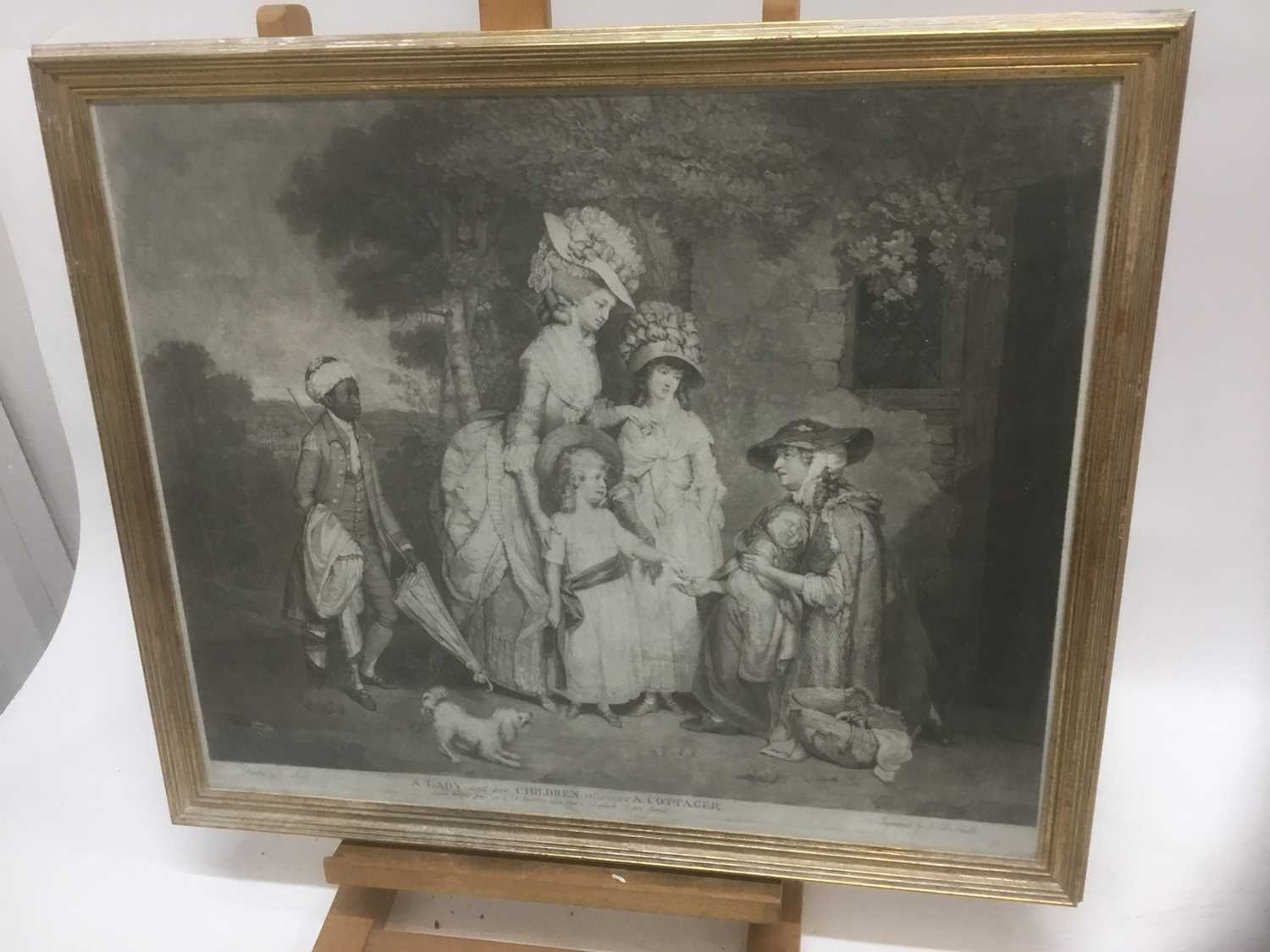 Four antique engravings - Image 2 of 24