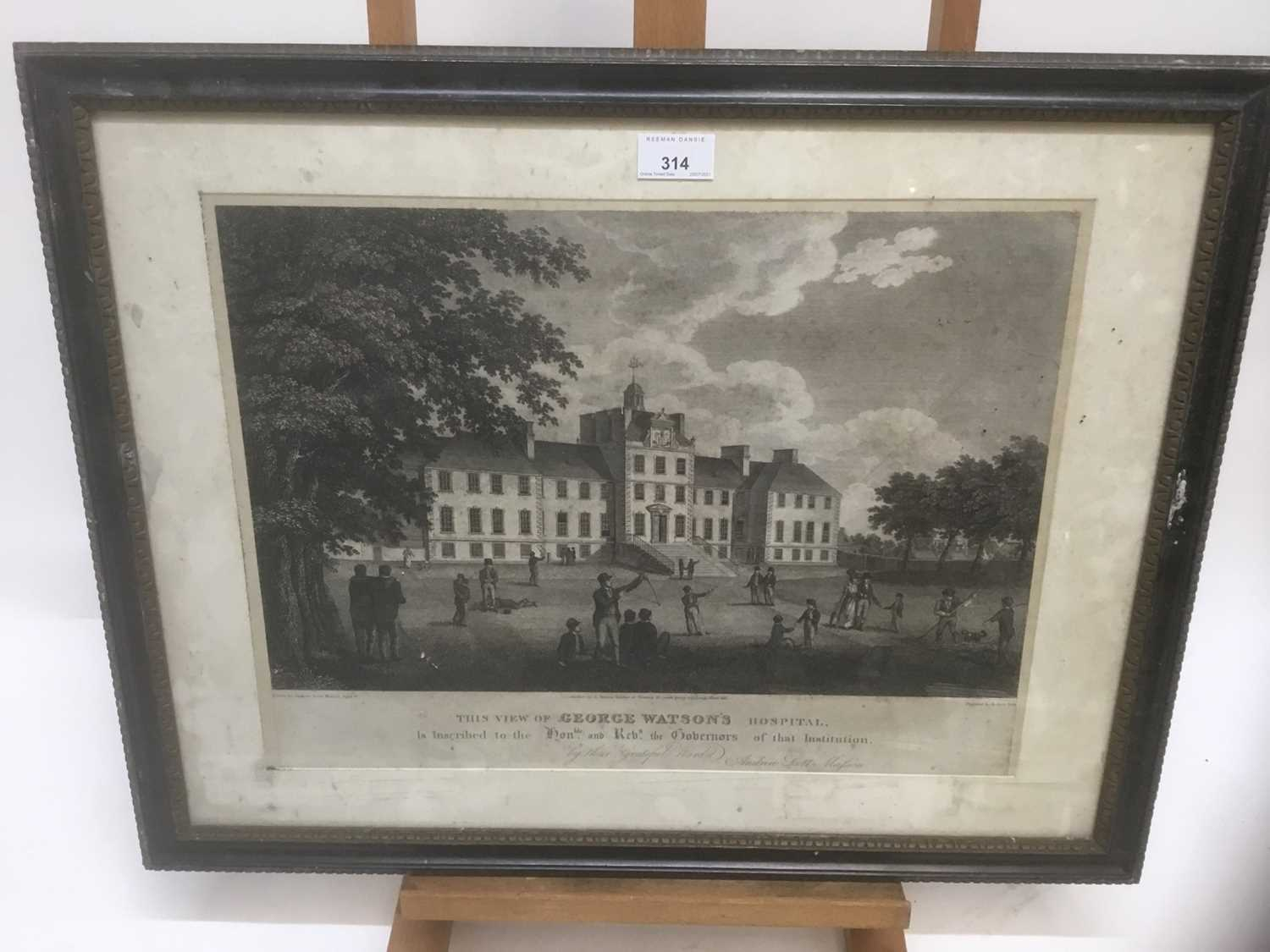Four antique engravings - Image 21 of 24