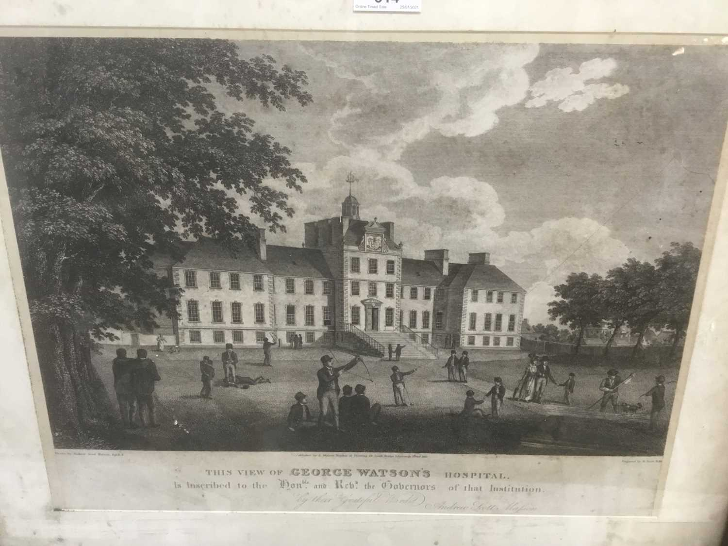 Four antique engravings - Image 18 of 24