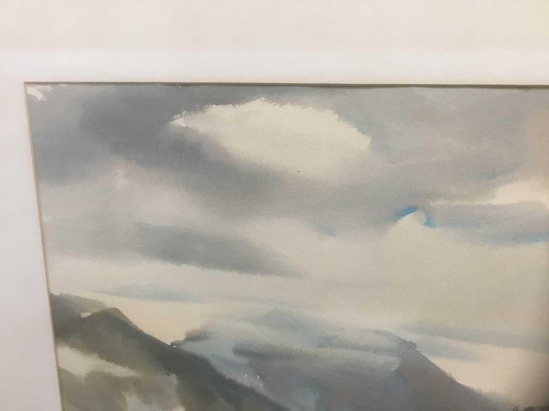 Kurt Schicketanz watercolours 'Lago todo los Santos' and 'Caleta de Pescadores Iquique' - Image 13 of 14
