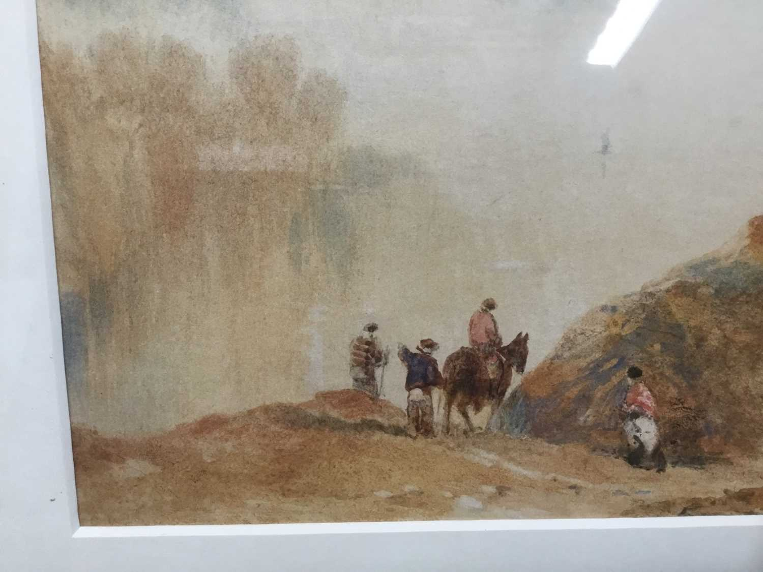 After Turner a watercolour study - Image 9 of 18