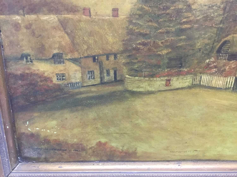 Oil of board of the Castle Inn - Image 3 of 6