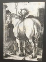 After Albrecht Durer (1471-1528) engraving - The large horse