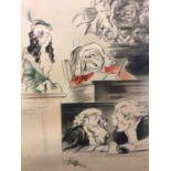 Edmund Blampied lithograph, signed