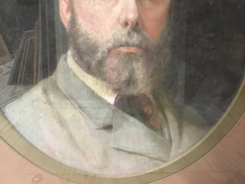 John Whitehead Walton (19th century) pair of pastel portraits. - Image 7 of 8