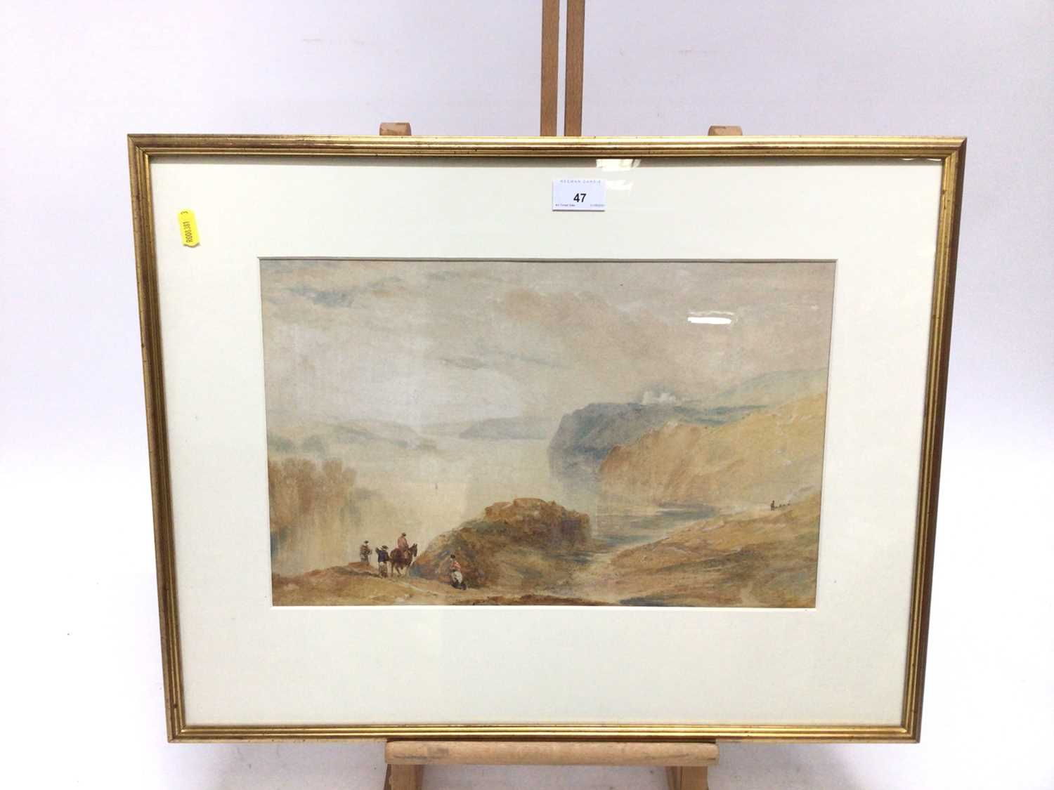 After Turner a watercolour study - Image 2 of 18