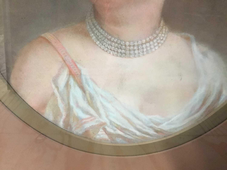 John Whitehead Walton (19th century) pair of pastel portraits. - Image 4 of 8