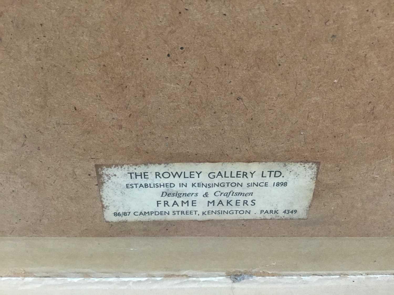 Modern British mixed media, Rowley Gallery - Image 7 of 7