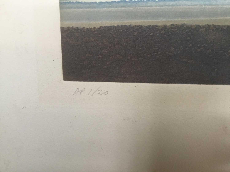 Michael Fairclough (b. 1940), aquatint, pencil signed - Image 5 of 5