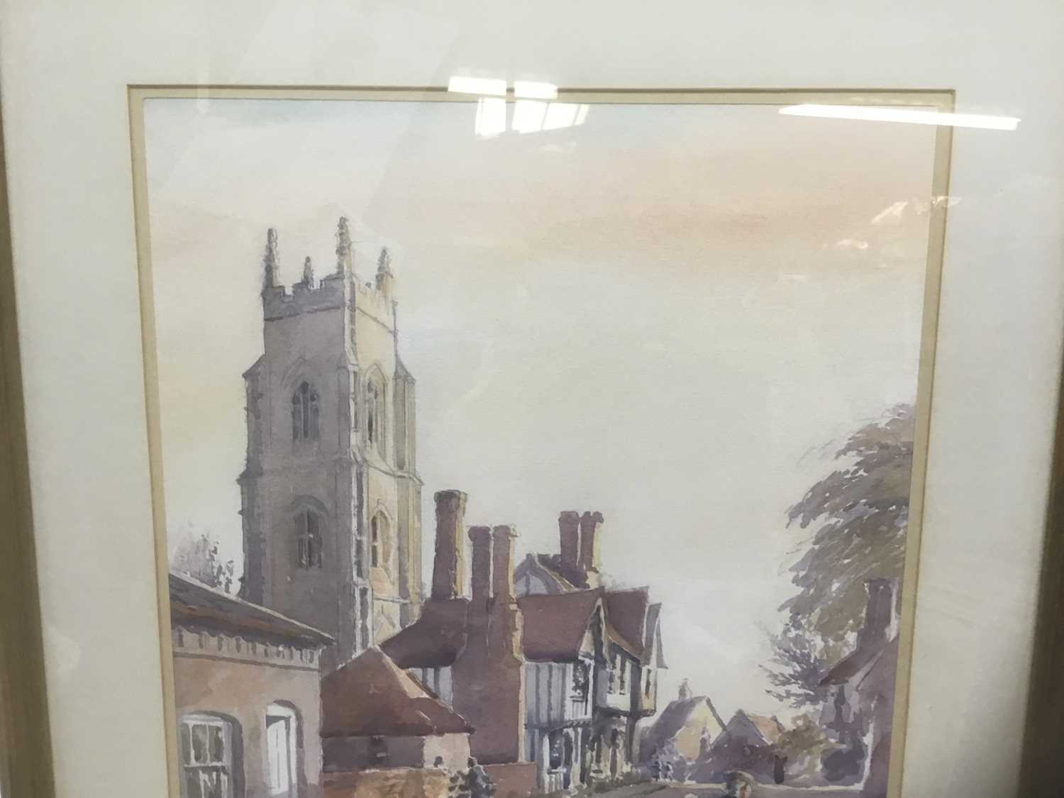 Anthea Du Rose (contemporary) watercolour- Stoke by Nayland - Image 4 of 5