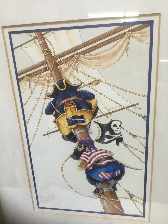 Watercolour - Pirates