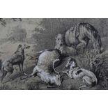 Samuel John Carter, clark and charcoal deer hunt