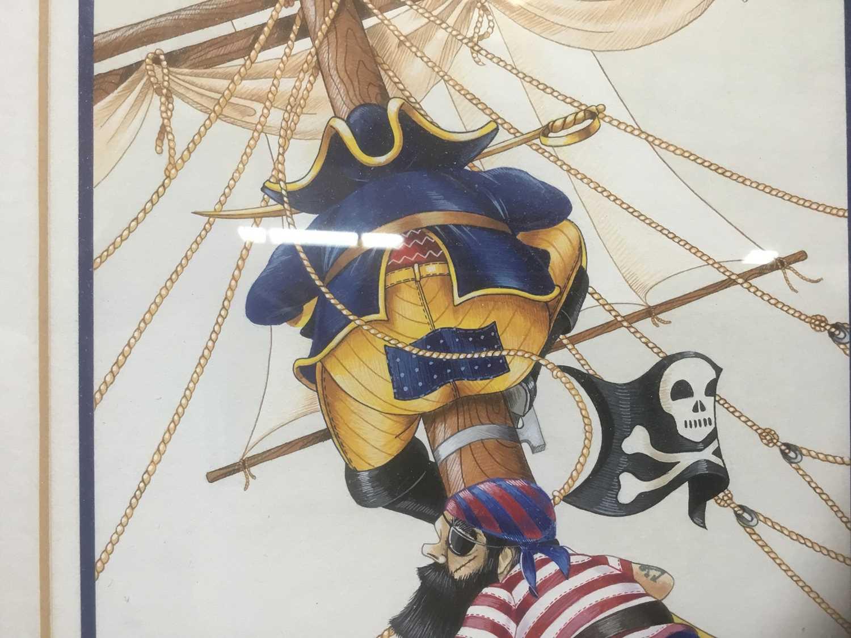 Watercolour - Pirates - Image 4 of 5