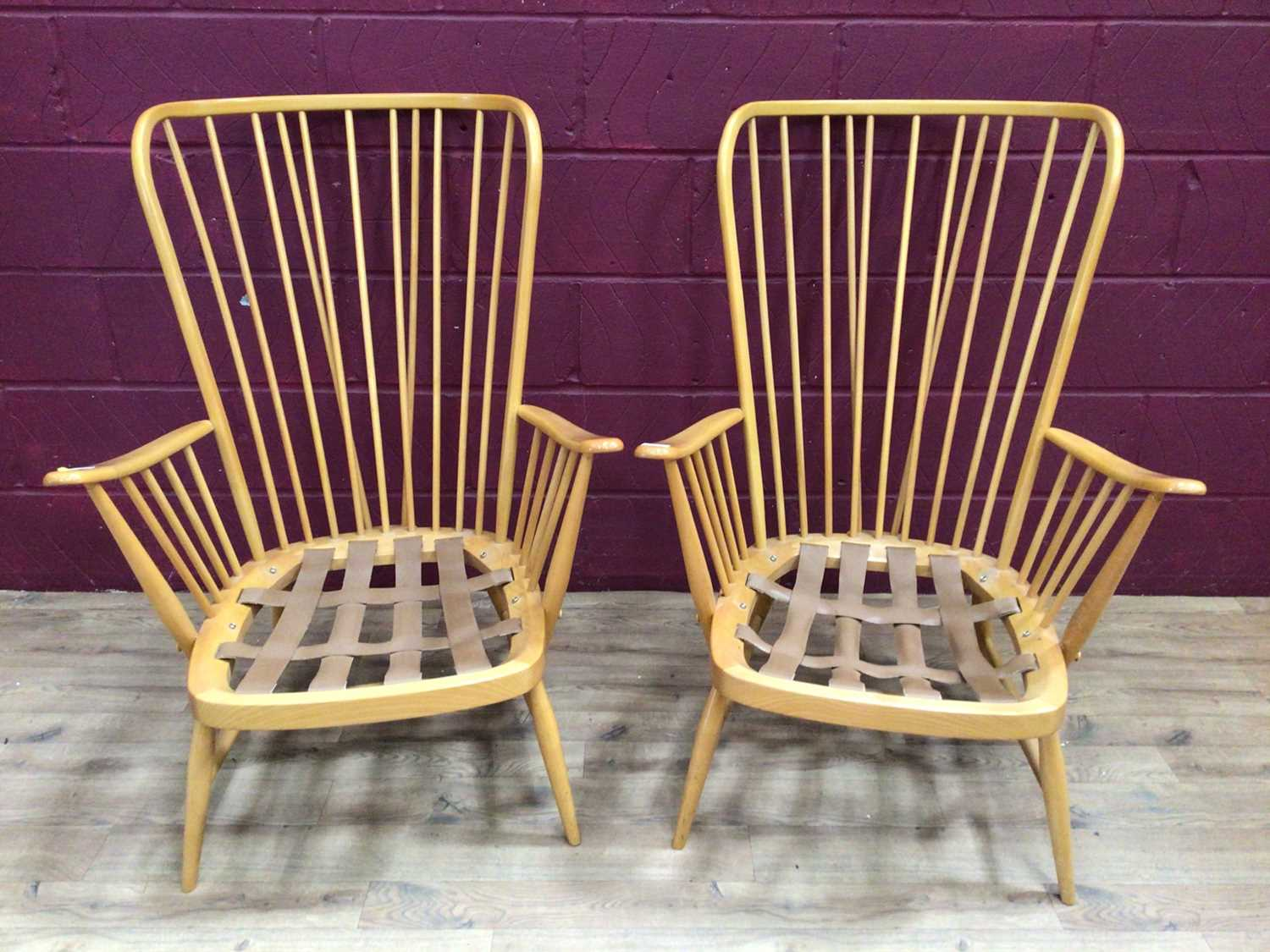 Pair of Ercol lounge chairs