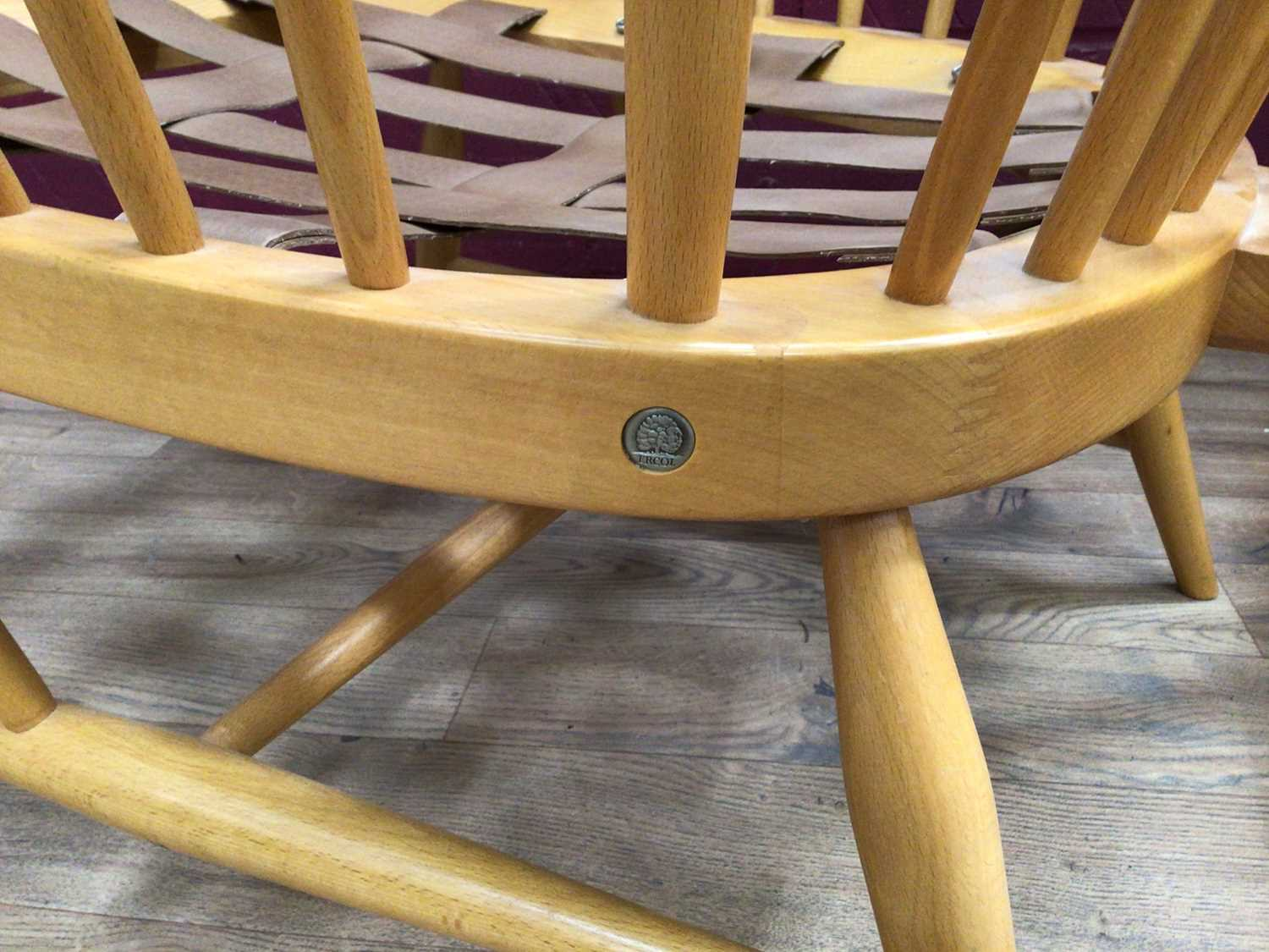 Pair of Ercol lounge chairs - Image 4 of 4