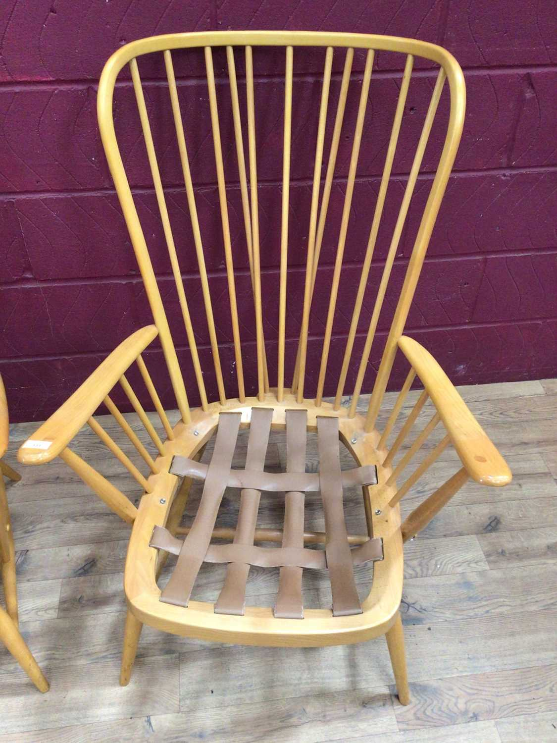Pair of Ercol lounge chairs - Image 2 of 4