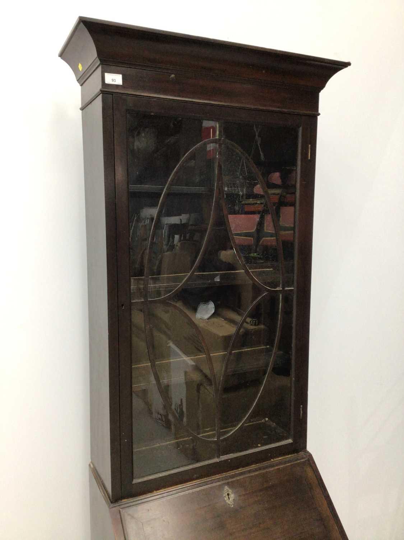 Mahogany bureau bookcase, 18th century with alterations - Image 2 of 8