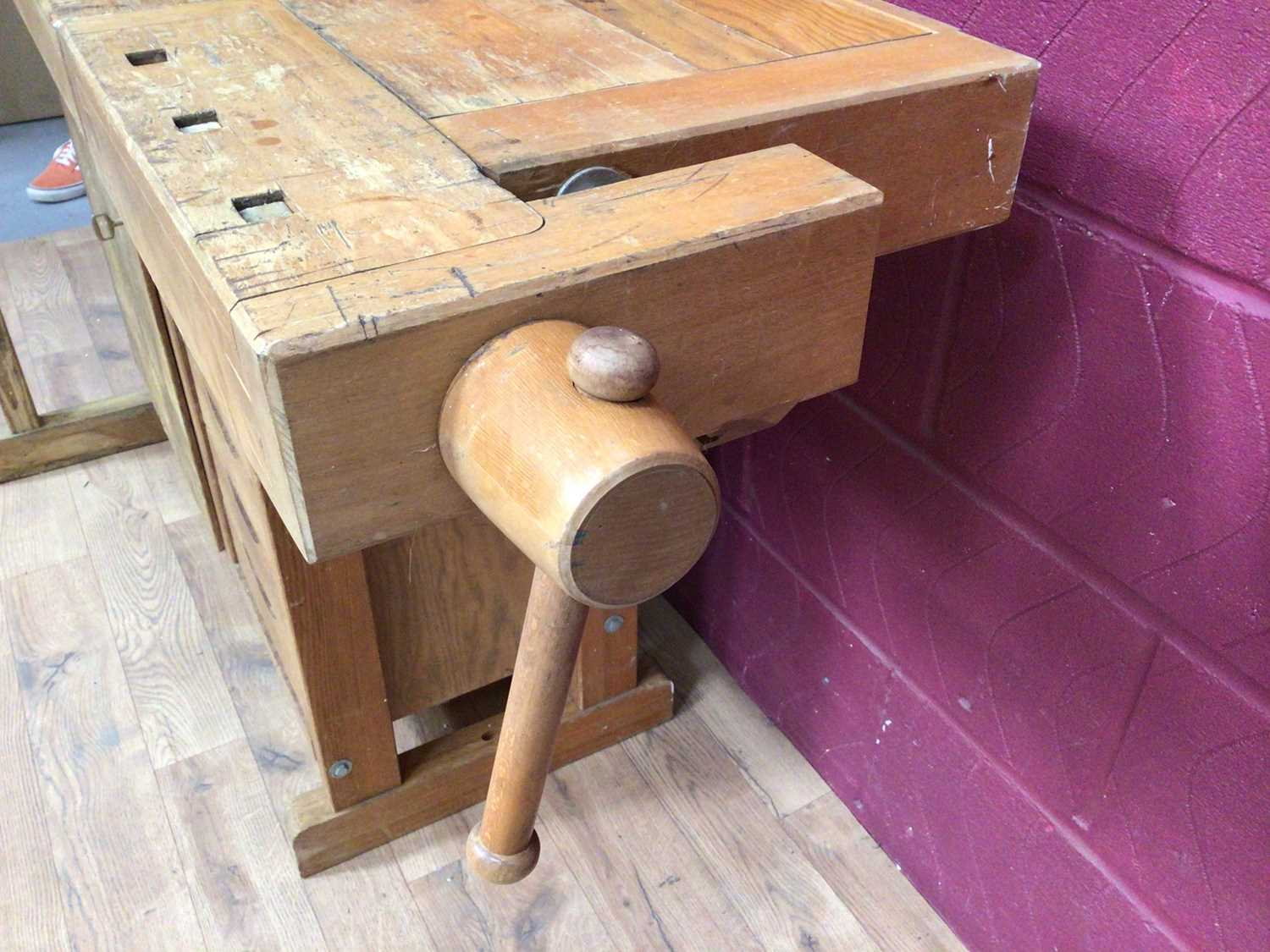 Scandanavian work bench by Gobergs of Sweden - Image 2 of 8