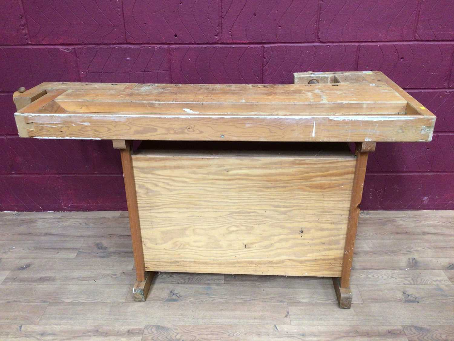 Scandanavian work bench by Gobergs of Sweden - Image 7 of 8