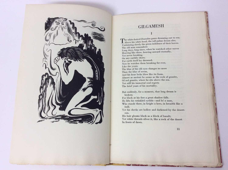 """F. L. Lucas: """"Gilgamesh, King of Erech"""", published Golden Cockerel Press 1948 - Image 5 of 9"""