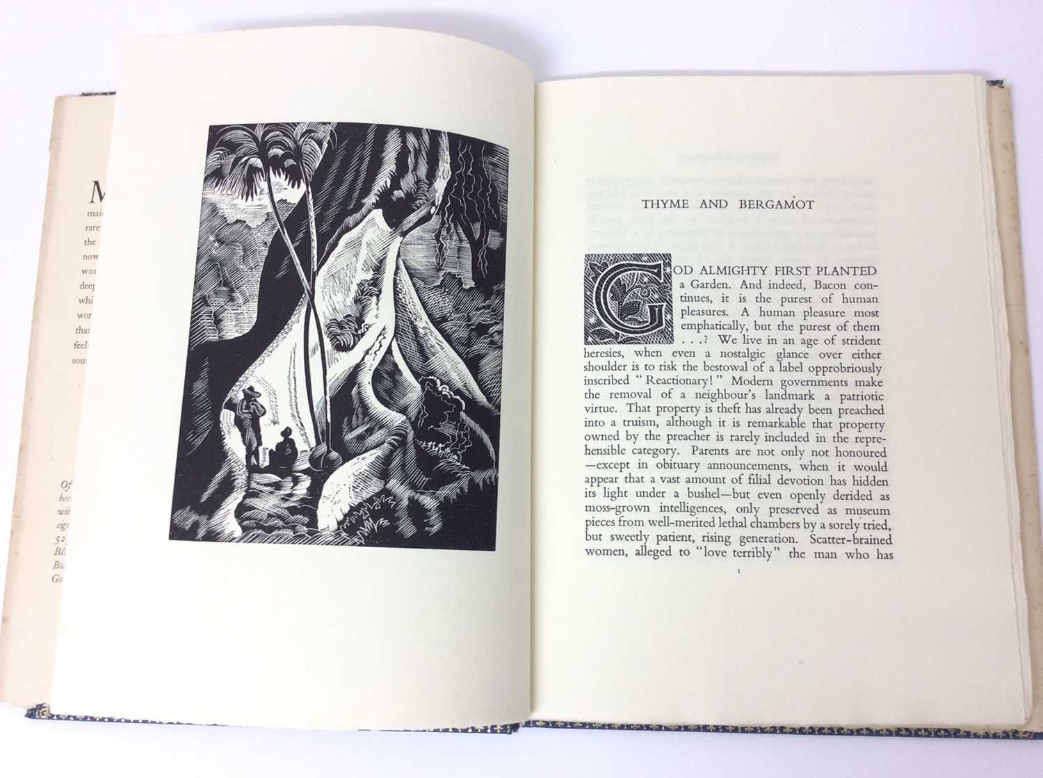 Christopher Sandeman - Thyme and Bergamot, illustrated by John O'Connor, Dropmore Press, 1947, numbe - Image 7 of 10