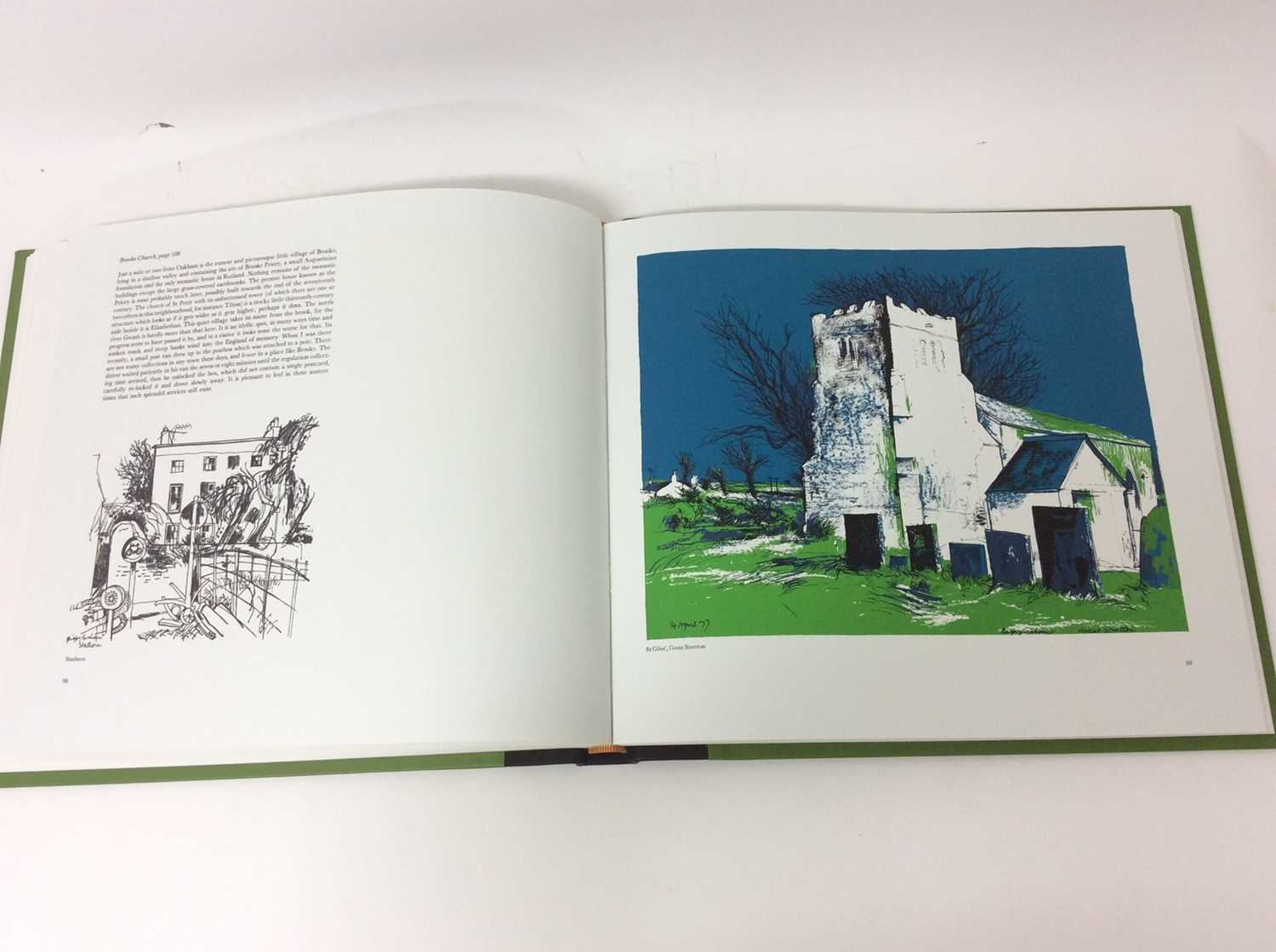 Rigby Graham, Leicestershire, Sycamore Press / Gadsby Gallery, Leicester 1980, folio book in slip co - Image 8 of 10