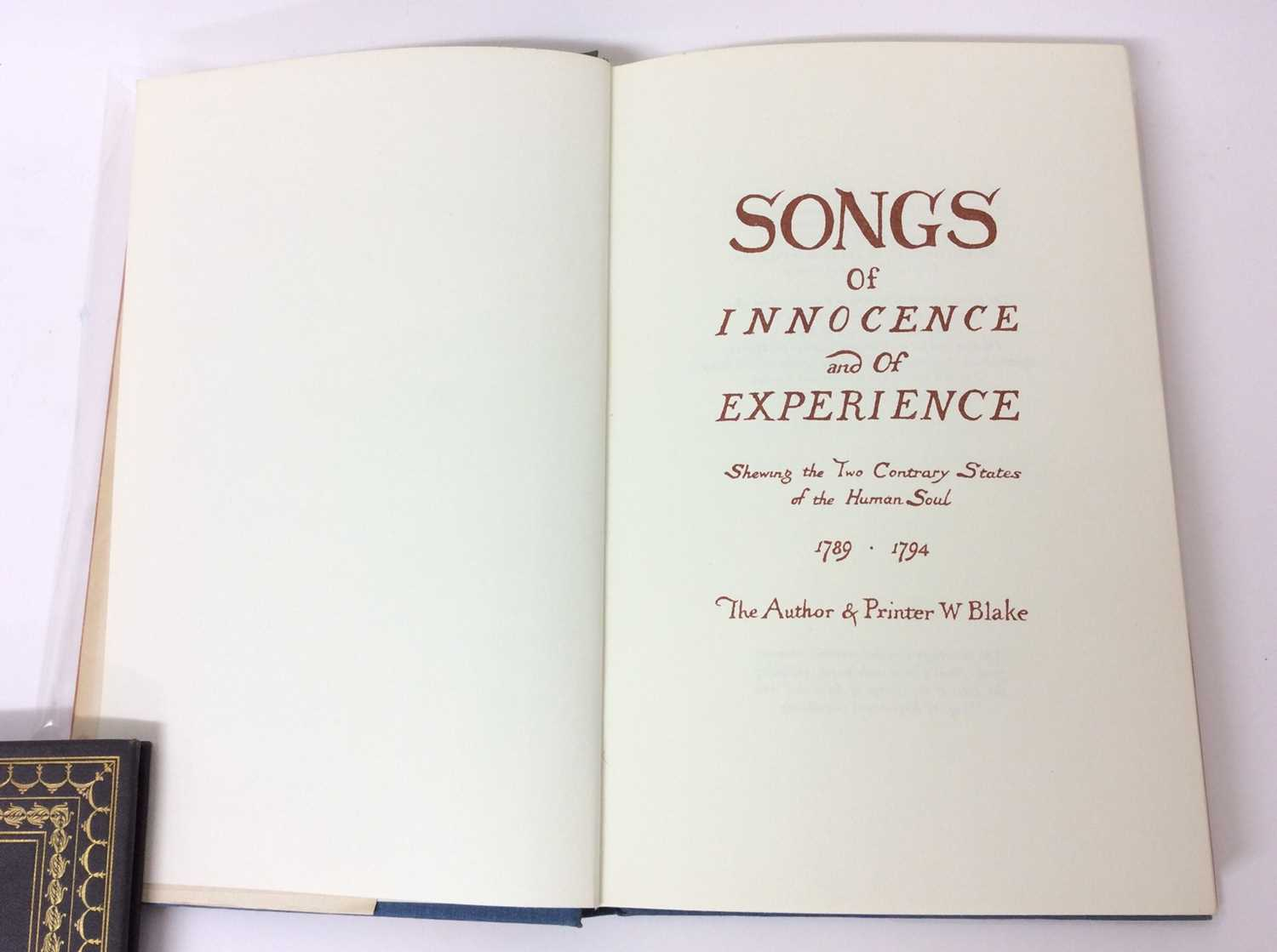 William Blake - Songs of Experience, Songs of Innocence, together with Mr Kilburn's Calicos - Image 7 of 15