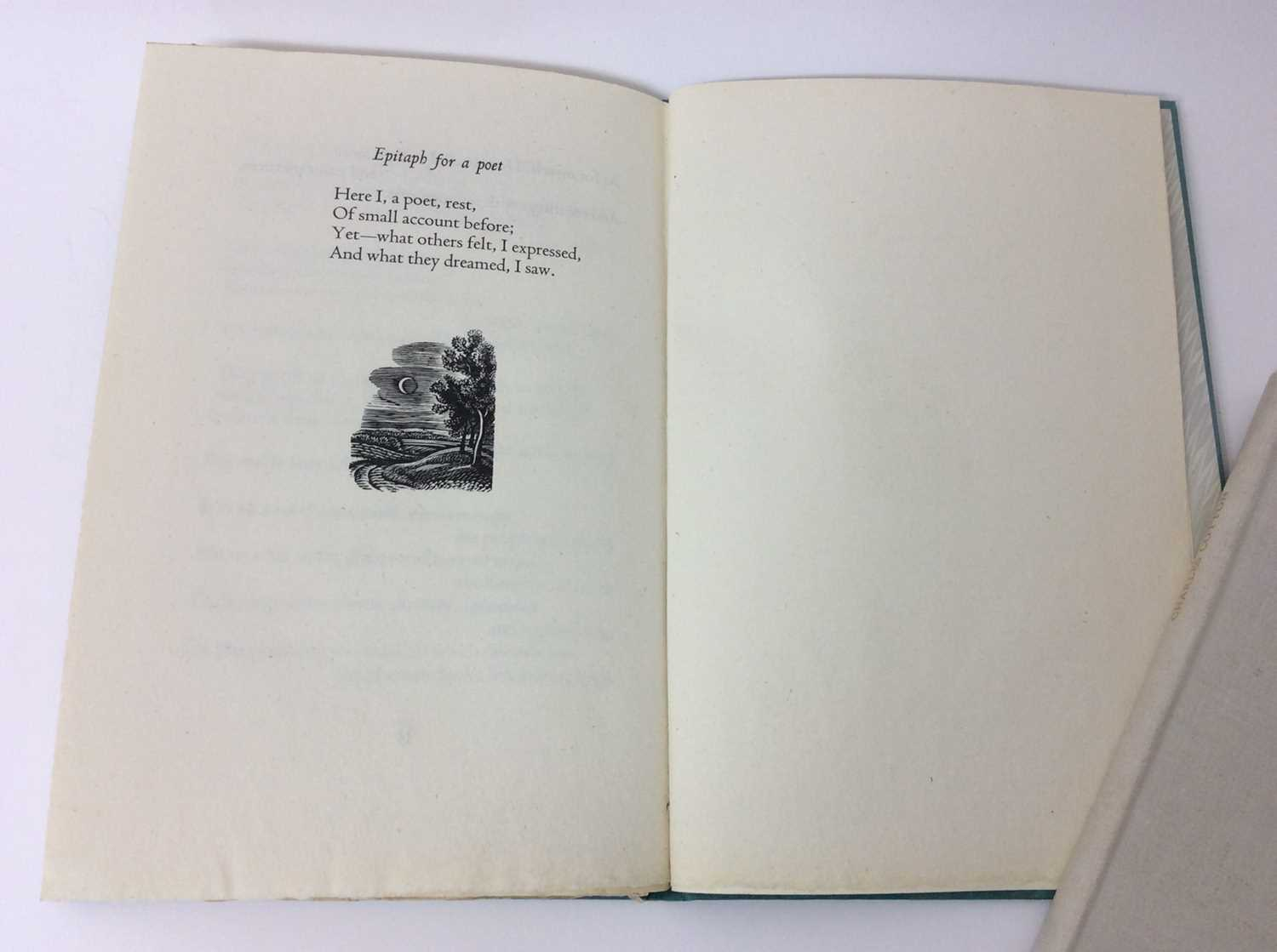 Evelyn Ansell - Twenty Five Poems, also Poems from the Works of Charles Cotton, illustrated by Claud - Image 8 of 13
